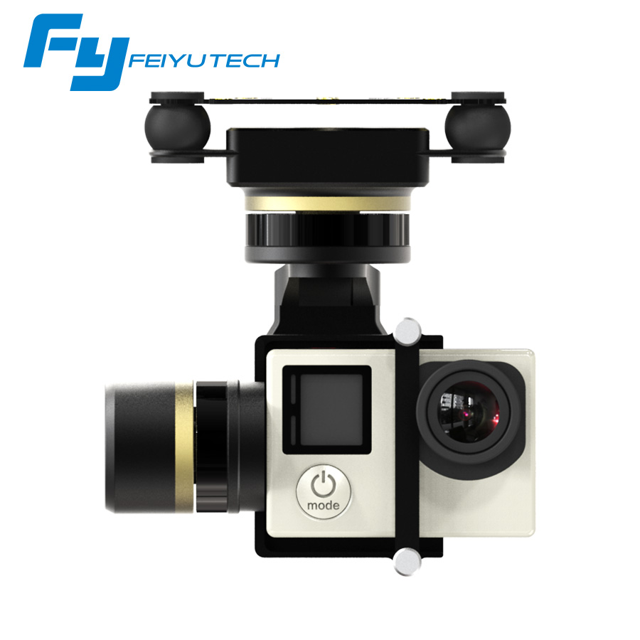 FeiyuTech FY Mini 3D Pro 3 Axis Brushless Aircraft Gimbal for Helicopters with 360 Degree Panning for GoPro