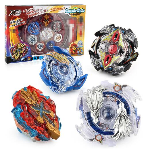 4 unids / set Beyblade Arena Spinning Top Metal Fight Bayblade - Juguetes clásicos - foto 1