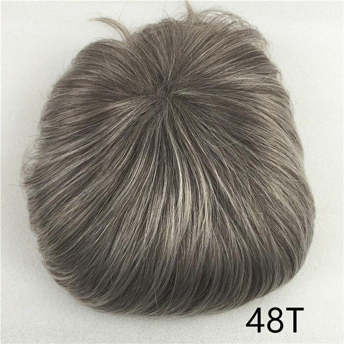 Сильная красота парик синтетические волосы парик выпадение волос топ кусок парики 36 цветов на выбор - Цвет: TB/темно-серый