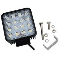 Work Light 48W Square Offroad Led 12 24V Extra Light Portable Flood Light Motor Tractor Truck