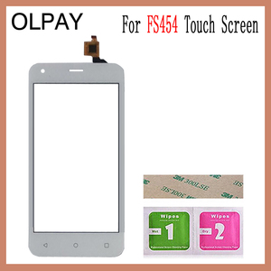 Image 2 - OLPAY 4.5 For Fly FS454 nimbus 8 FS 454 Touch Screen Digitizer Panel Repair Parts Touch Screen Front Glass Lens Sensor Tools