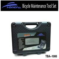 Hongfa Bicycle Repair Tool Kit Professional Bike Tool Box Shop/Home For Shimano Cycling Repair Case Tool Sets