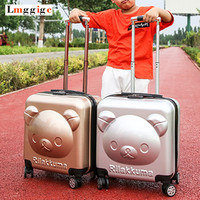 Student's Cartoon Rolling Luggage ,Cabin bag, Kids Suitcase, Child's Travel Box, Children's Gift ,Whell Trolley Carry On Case