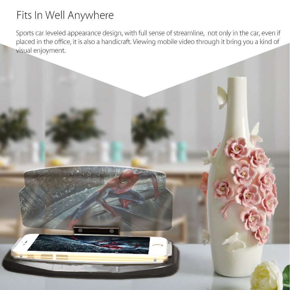 HUDWAY GLASS | UNIVERSAL VEHICLE ACCESSORY - TURNS YOUR PHONE TO HEAD UP DISPLAY 5