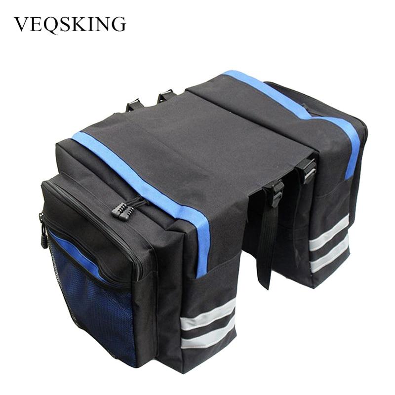 Cycling Bike Bicycle Rear Rack Seat Bag Handbag Trunk Saddle Tail Pannier Pouch