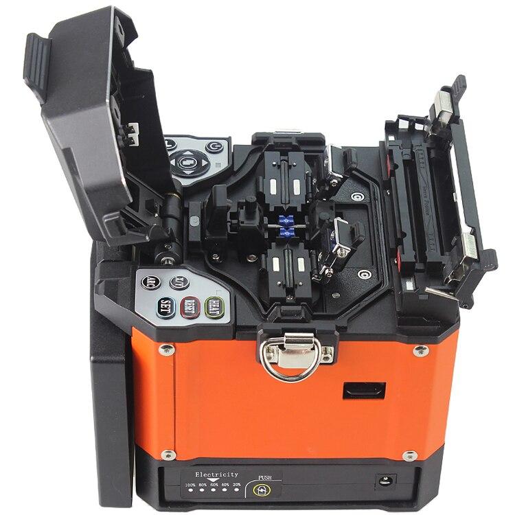 A-80S оранжевый автоматический сварочный аппарат машина волоконно-оптический сварочный аппарат волоконно-оптического сращивания машины