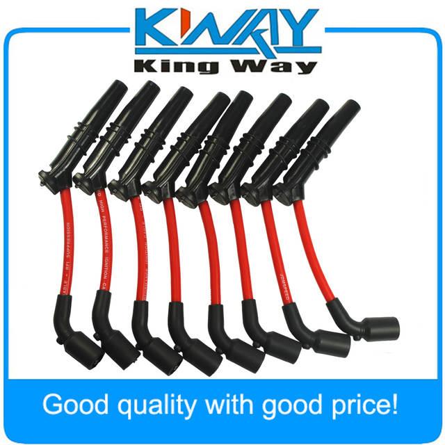 Online Shop 10.5MM HUGE SPARK PLUG WIRES SET FIT FOR GM CHEVY ... on zz4 spark plugs, ls4 spark plugs, lt1 spark plugs, 5.3l spark plugs, zr1 spark plugs, tr6 spark plugs,