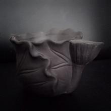 3D Lotus Craft Clay Plaster Pot Making Silicone Mould Concrete Planter Mold Desktop Decorating Vase