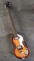 Toptan Yeni Cnbald 4 Dize Bas Gitar CT Çağdaş 500/1 Sunburst Keman Bass Gitar En Kaliteli