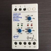 GKR 02 Voltage Monitoring Device Relay GKR 02 Phase Failure And Phase Sequence Protection Relay For
