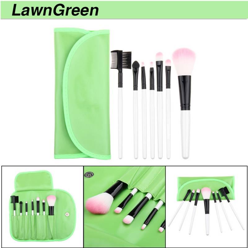 punho plastico cosmetic make up brush kit 05