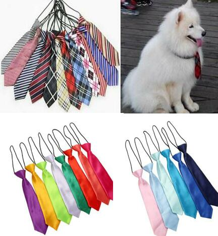 60pc lot Big sale Large Dog Neckties For Big Pet Dogs Ties Dog Grooming Supplies