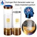 Имплантированный квантовый водород богатый генератор бутылка воды ионизатор анти-старения H2 питьевой воды беспроводной передачи завод ст...