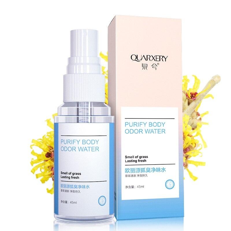 Rapid Deodorant  Spray Remove Body Odor Pure Taste Water Deodorant Aromatic Body Antiperspirants New