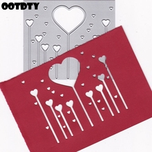 Love Magic Wand Metal Cutting Dies Stencil DIY Scrapbooking Album Stamp Paper Card Embossing Crafts Decor 2019 For Making