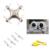 CX-10A CX-10C CHEERSON CX-10 Quadcopter drone mini 2.4G rc helicóptero brinquedos De Controle Remoto 6 Canal com luz led 360 grau