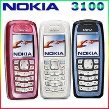3100 Оригинальный разблокирована Nokia 3100 gsm Bar 850 мАч Поддержка России и арабский клавиатура дешевые и старый мобильный телефон Бесплатная доставка