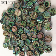 6 pcs saxophone finger button pearl real abalone shell Repair parts