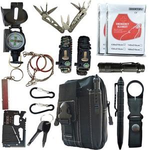 16 in 1 Outdoor survival kit S