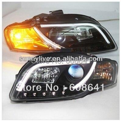 Светодиодный головной свет для Audi А4 В7 светодиодный налобный фонарь 2005 - 2008 года Тип В2