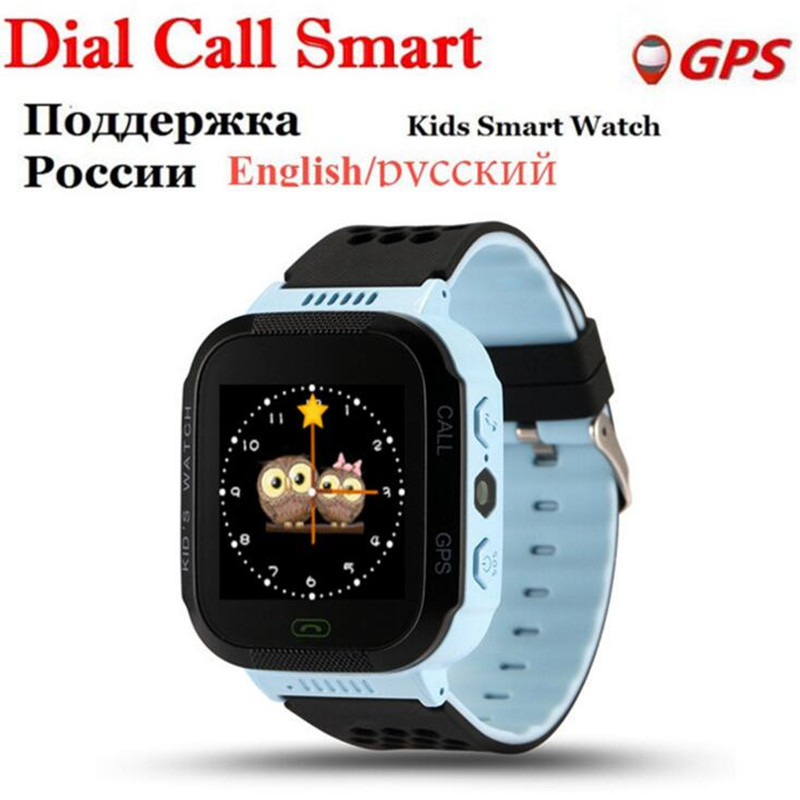Russian Smart Watches Kids GPS Watch Camera For Apple Android Phone Smart Baby English Smartwatch Children Smart Electronics F44 smart baby watch g72 умные детские часы с gps розовые