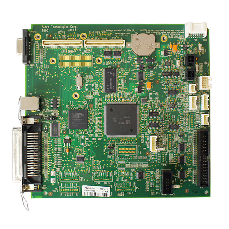 SEEBZ Used Mainboard System Board Motherboard For Zebra ZM400 200dpi Barcode Printer Parts oringinal zebra gt820 barcode