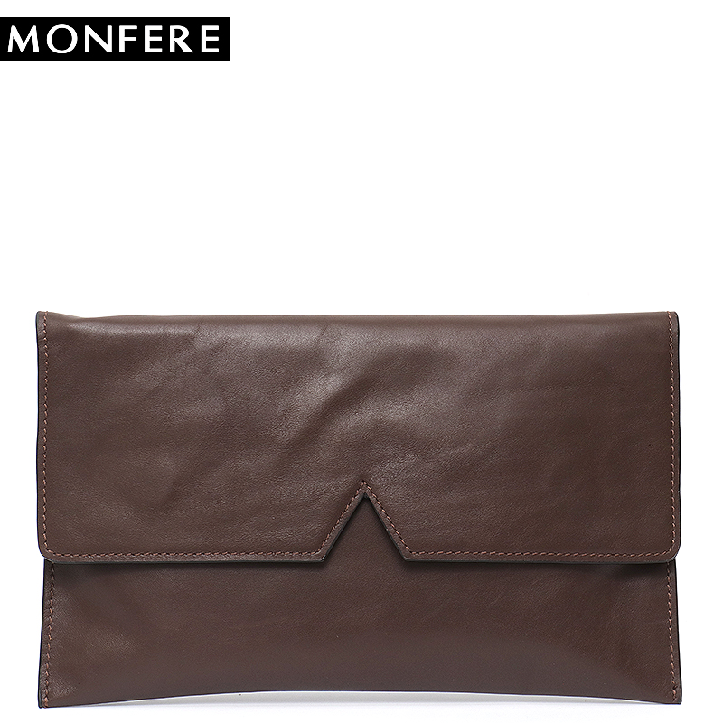 MONFERE High Quality Women Messenger Bags 100% Genuine Leather Famous Brand Leather Flap Handbag Purse&Bags Pockets Wrist Bag high quality famous brand upscale 100