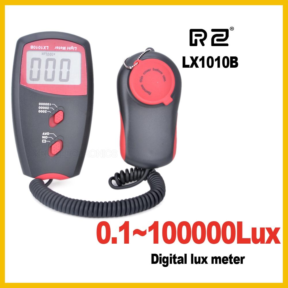 Ingyenes házhozszállítás ÚJ Professzionális Digitális Luxmérő 100000 Lux Eredeti kiskereskedelmi csomag nagykereskedelem LX1010B