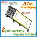 37wh 7.5 v genuino original batería para asus x555 x555la x555ld x555ln c21n1347 f555la batteria baterías de alta calidad