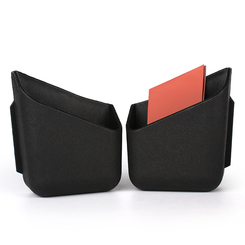 LEEPEE 1 Pair Car Pocket Holder For Cigarette Cellphone Glasses Auto Pillar Box Truck Storage Bag Car Accessories Car-styling