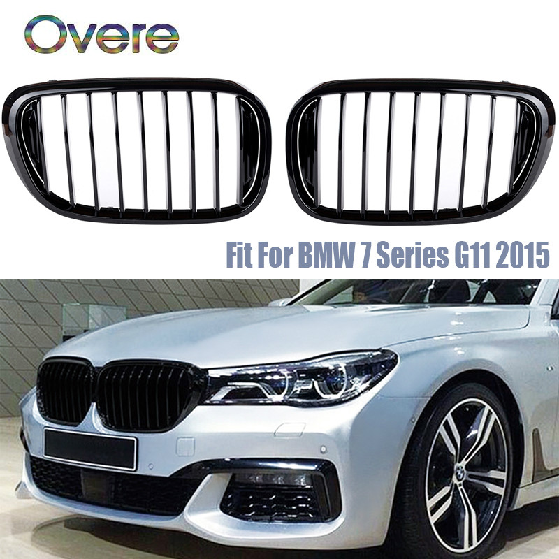 Overe Car Front Bumper Racing Grills For BMW G11 G12 BMW 7 Series 2018 2017 2016 2015 740i 750i 760i Performance AccessoriesOvere Car Front Bumper Racing Grills For BMW G11 G12 BMW 7 Series 2018 2017 2016 2015 740i 750i 760i Performance Accessories
