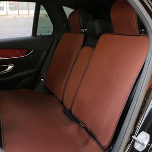 Image 5 - Housse de siège de voiture, 2 pièces, protection pour siège de voiture, protection respirante, pour SUV, protection pour cinq sièges