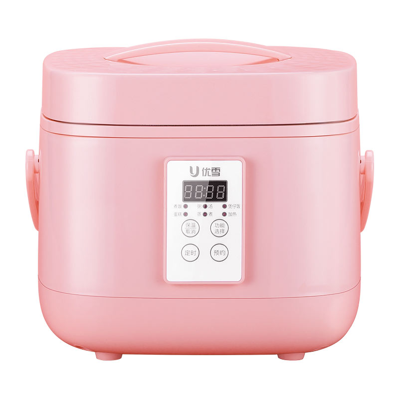 YX-3050 Rice Cooker 2-5 People Household Smart Booking Fully Automatic Small Rice Cooker 3L Touch Screen Appointment Timing smart mini electric rice cooker small household intelligent reheating rice cookers kitchen pot 3l for 1 2 3 4 people eu us plug