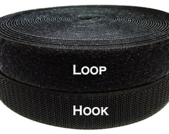 Loop And Hook >> 1inx25m Hook Loop With 3m Adhesive Tape For Garment Luggage Use