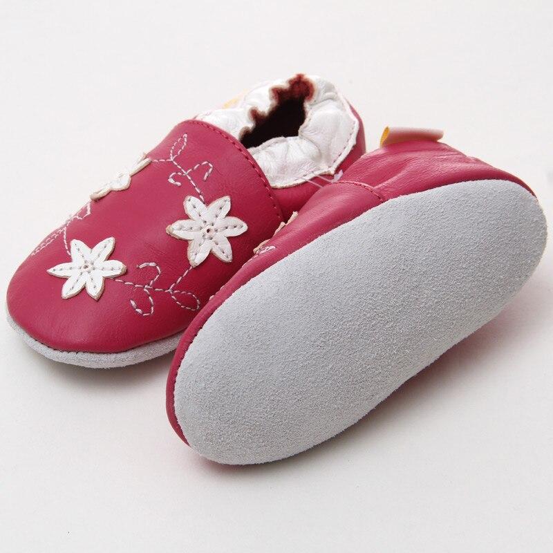 Leder Babyschuhe Kleinkind Kinder Schuhe Mädchen Baby Mädchen Erste - Babyschuhe - Foto 4