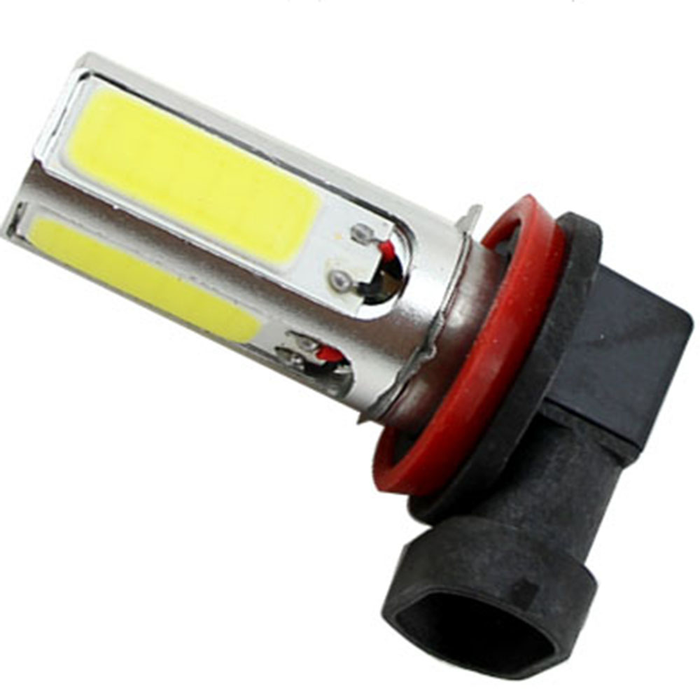 H8 H11 Headlights 4 LED High Power 20W COB H11 Fog lamp Head Bulb Light Lamp 12V Parking Led Car Light car light source h8 h11 female adapter wiring harness socket car auto wire connector cable plug for hid led headlight fog light lamp bulb