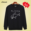 Cartoon Flipper Fish new hoodies men brand designer mens sweatshirt men in  harajuku Long Sleeve hoodie autumn aikooki