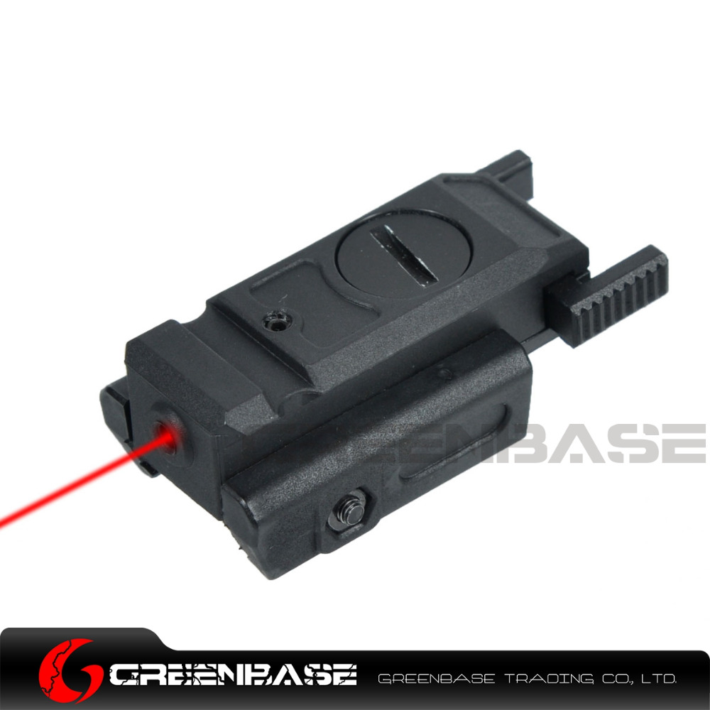 Greenbase Low Profile Red Laser Sight Tactical Laser Pointer Airsoft Pistol 20mm Picatinny Weaver Mount & 3/8