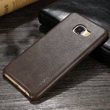 X Уровня Люкс Ретро PU Кожаный Чехол для Samsung Galaxy C7 Назад Чехол для Samsung C7 C7000 Винтаж Кожаный Чехол Fundas Capa