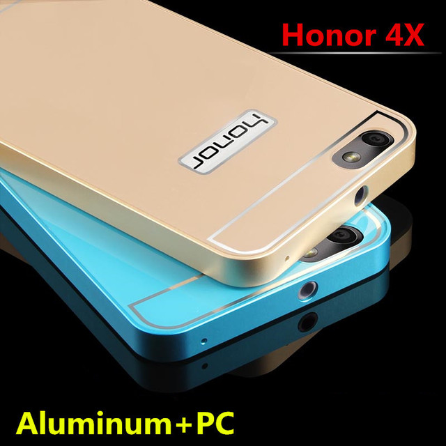 on sale 2bc91 5db70 US $12.99  Huawei Honor 4X Case High Quality Ultra Thin Metal Aluminum&PC  Phone Case Cover For Huawei Honor 4X on Aliexpress.com   Alibaba Group