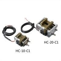 Одноподвижный параллельный зажим HC1 10 C1/20 C1 цилиндр манипулятора параллельный Пневматический зажим airtac пневматический