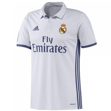 ADIDAS CAMISETA REAL MADRID 2016 2017 hombre – camiseta fútbol poliester blanco – camisetas de futbol, real madrid camiseta