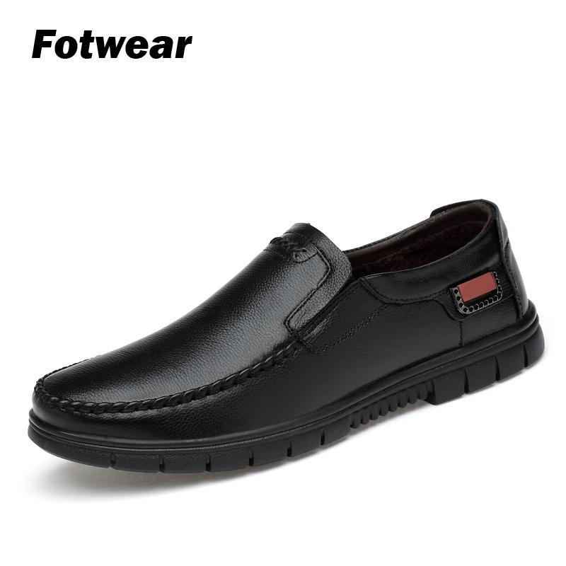 Fotwear Men' Genuine Leather shoes Casual shoes Fashionable styling High qualiy Top Brand Formal work dress Comfortable felling