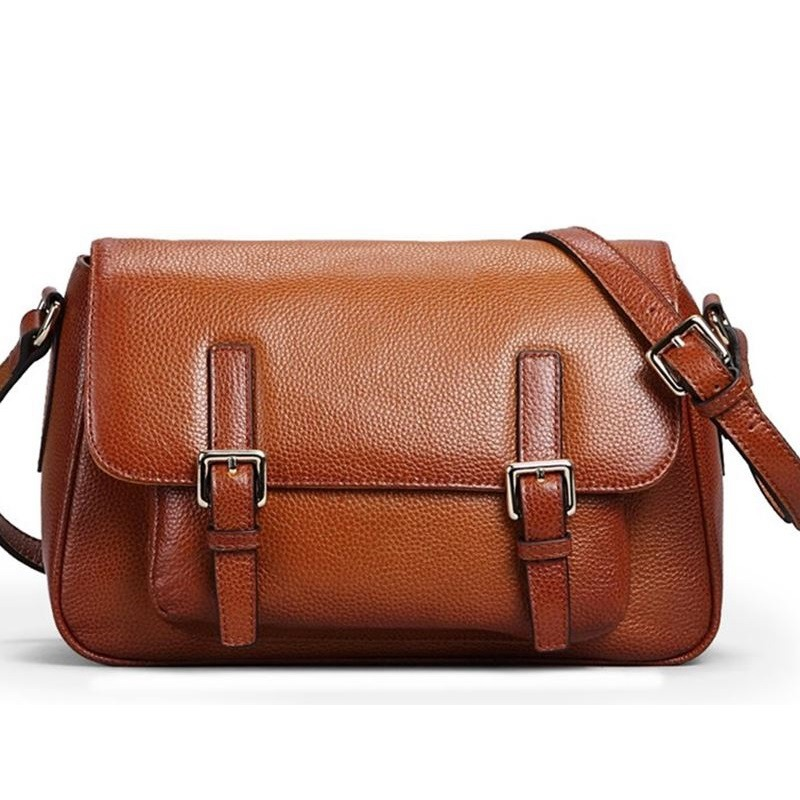 Female Genuine Leather Bags Vintage Women Messenger Bags Cross Body Cover Satchels Solid Designer Handbags High Quality 2016 twenty four women brand flap bags natural genuine leather handbags with chain solid color cover small bags young cross body bags