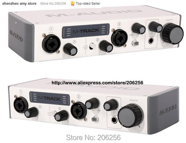 m audio m track ii 2 usb scheda audio esterna 2in 2 out strumento