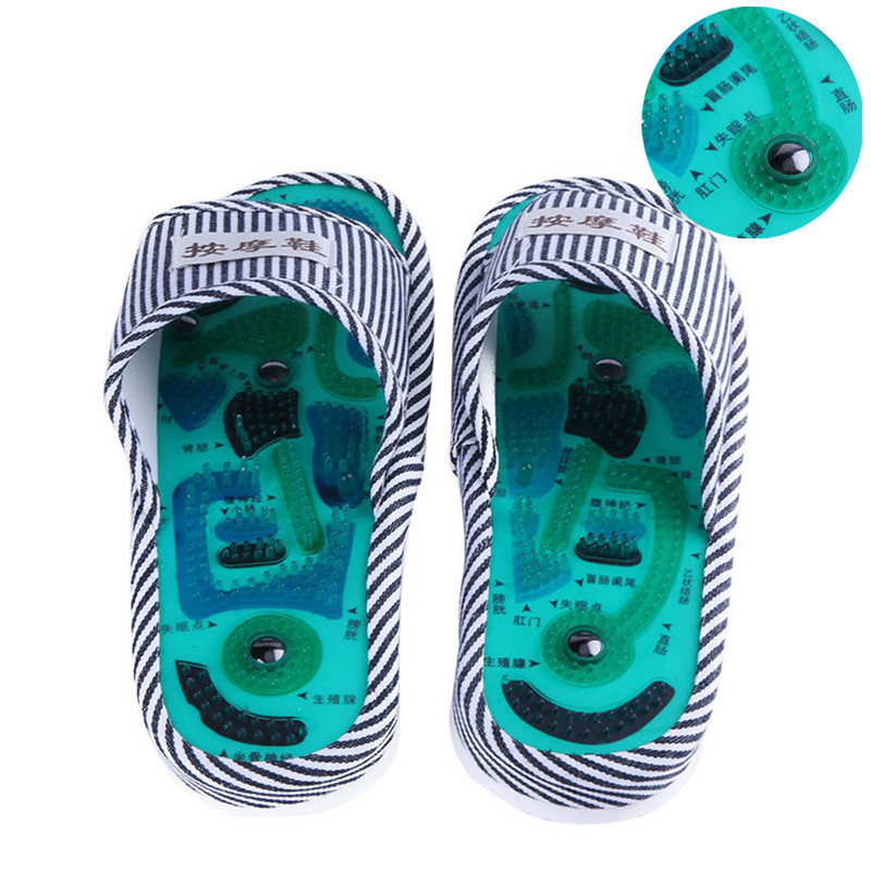 1 paar Männer Frauen Fuß Massager Hausschuhe Gesundheit Magnetische Akupunktur Füße Massageador Fuß Meridiane Schuhe Gesundheit Pflege