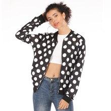 Rose Leopard Spring Women's Jackets Plus Size Short Female Coat Zipper Chaqueta Long Sleeve Polka Dot Women Bomber Jacket