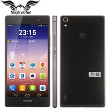 Oriignal HuaWei Ascend P7 4G LTE Mobile Phone Kirin 910T Quad Core 2G RAM 16GB ROM Android 4.4 5.0inch FHD 1920x1080 13MP Camera
