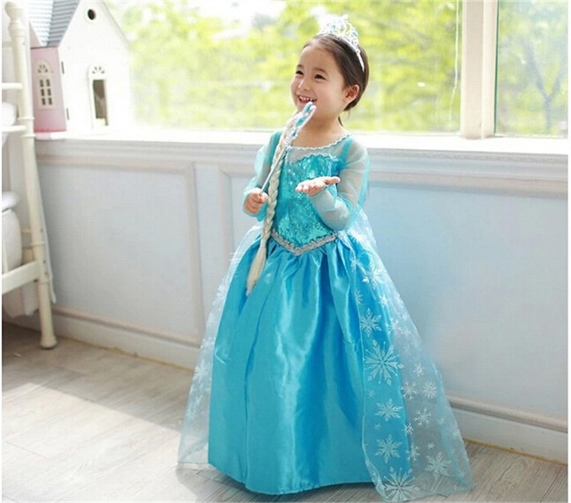 Little Baby Girl Halloween Cosplay Costume Birthday Party Dress Girls Clothes Children's Fancy Kids Dresses For Girls Vestidos 4pcs gothic halloween artificial devil vampire teeth cosplay prop for fancy ball party show