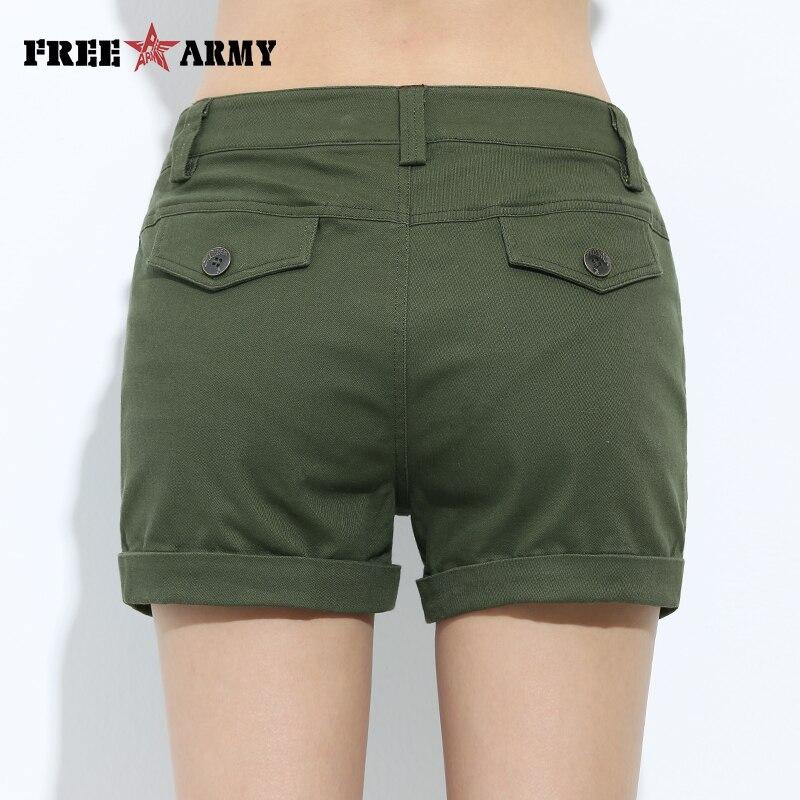 Celana pendek bordir, Wanita busana musim panas celana pendek katun - Pakaian Wanita - Foto 5